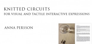Knitted circuits ...
