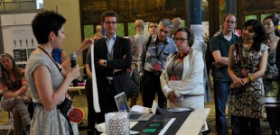 Presentations at Smart textiles salon 2013/ Ghent