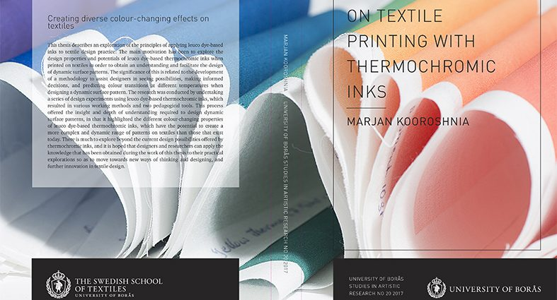 On textile printing with thermochromic inks