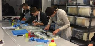 Thermochromic workshop at Vilnius Art Academy, 9-11th of October, 2017